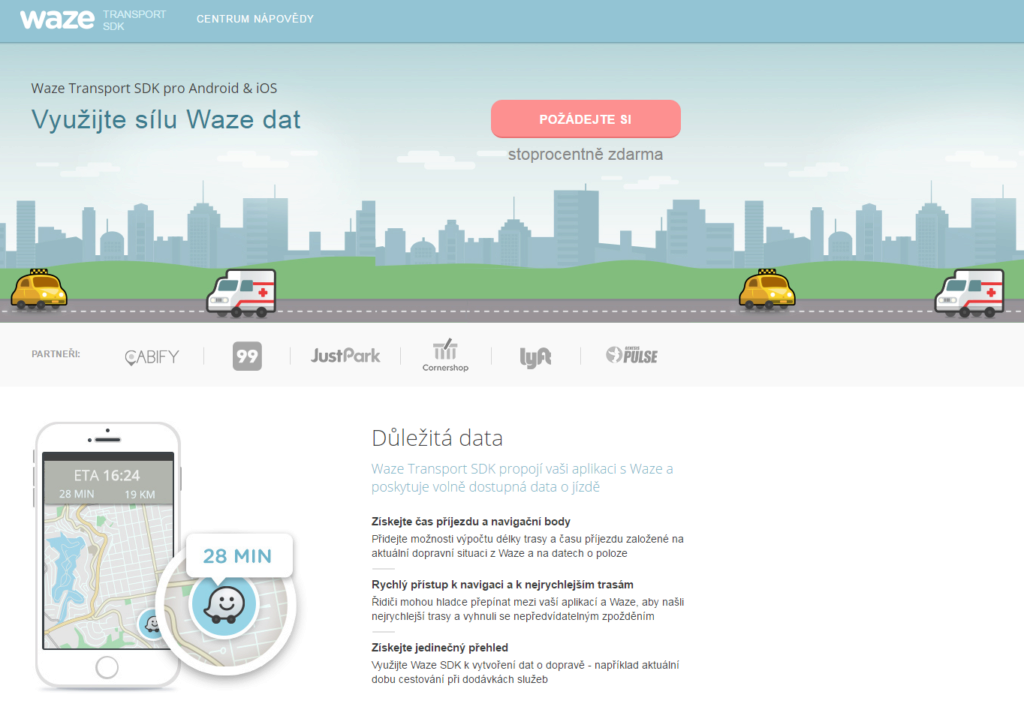 Waze-Transport-SDK