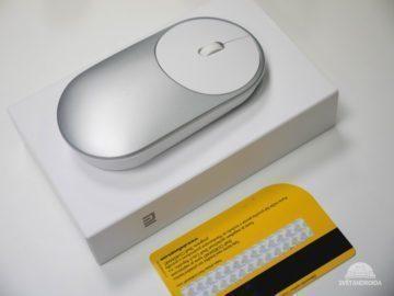 Xiaomi Mi Portable Mouse boční strana