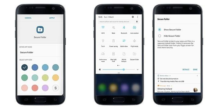 Aplikace Secure Folder je oficiálně dostupná pro Galaxy S7 a S7 Edge