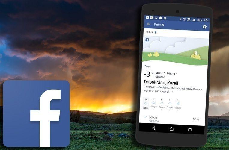 facebook-aplikace-pro-predpoved-pocasi