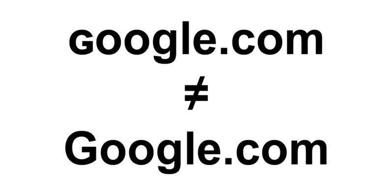 ɢoogle.com není Google.com