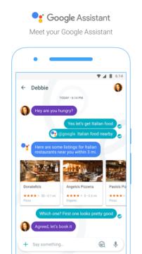 První setkání s Asistentem Google