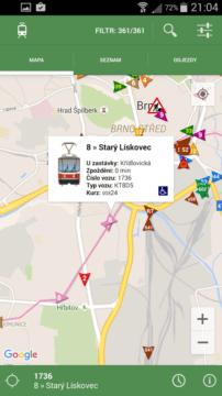 Vyzrajte na dopravu v Brně