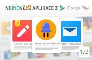 Nejnovější aplikace z Google Play #172: ovládněte LED notifikace