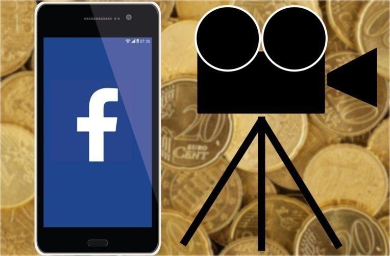 Facebook reklamy uprostřed videa