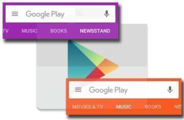 Google testuje v Obchodě Play rozhraní s oddělenými kategoriemi