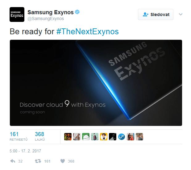 Upoutávka na Samsung Exynos 9