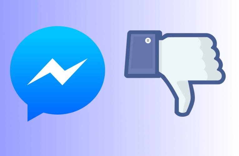 Dislike u Facebook Messengeru