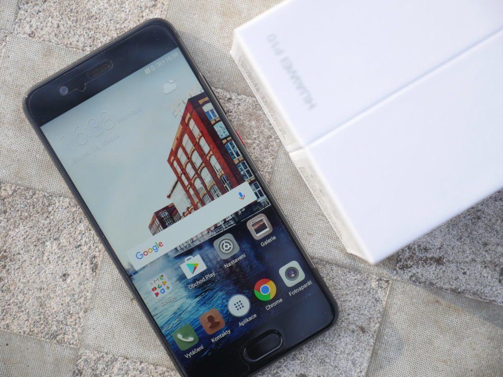 Huawei P10 displej 2