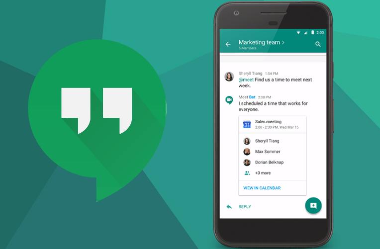 Kecalek Google Hangouts