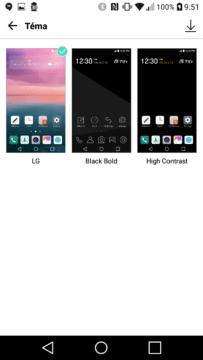 LG K10 (2017) téma 1