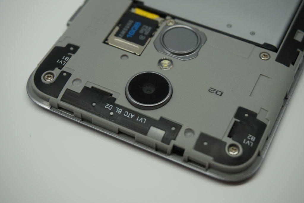LG K4 (2017) fotoaparát