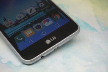 LG K4 (2017) spodní strana