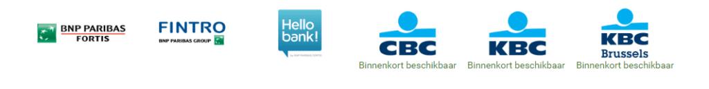 Platby mobilem – fungující banky v Belgii