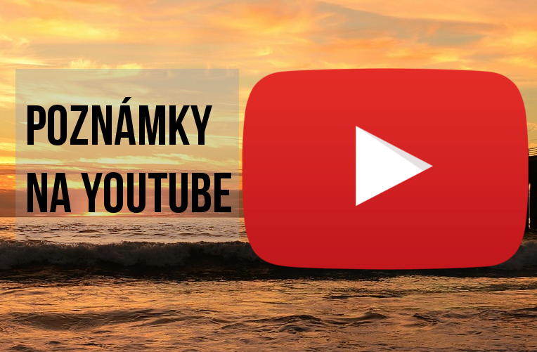 Poznámky na YouTube