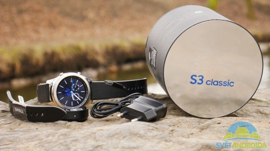 Samsung Gear S3-obsah-baleni