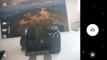 Sony Xperia X Compact fotoaparát (2)