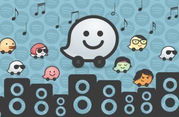 Waze a Spotify náhleďák