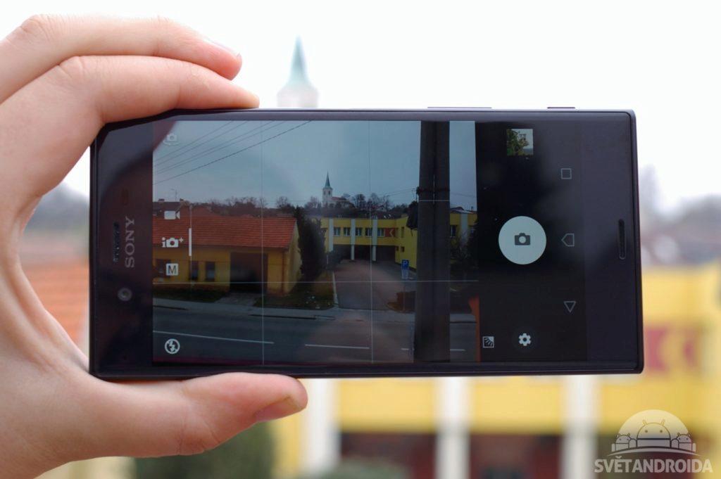 Sony Xperia XZ fotoaparat