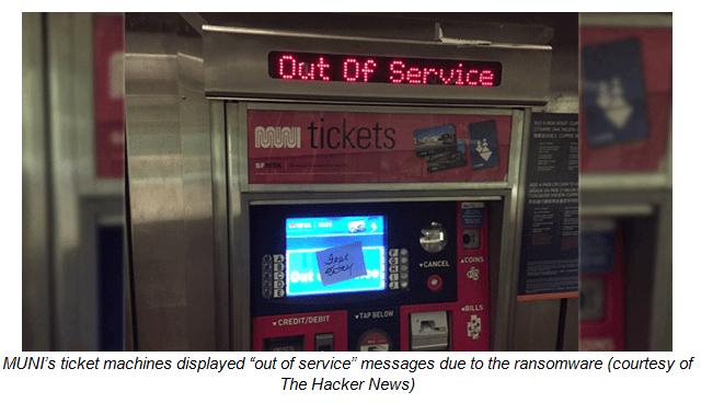 Útok na jízdenkové automaty ukázal, co je ransomware