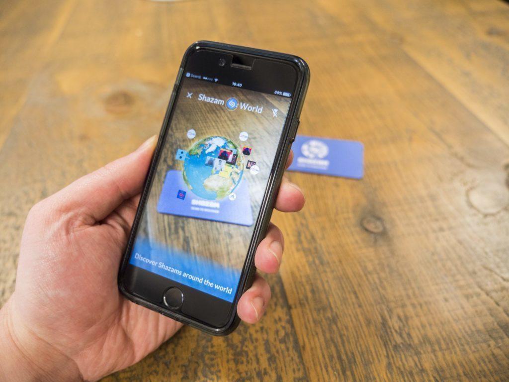 Shazam použije rozšířenou realitu k poutavější reklamě