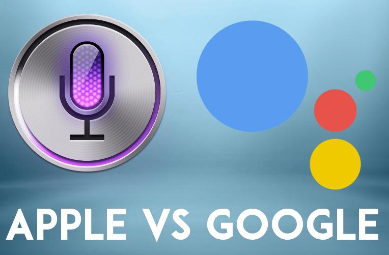 Siri vs, Google Assistant