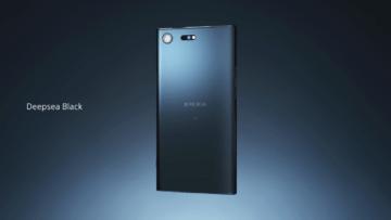 Sony Xperia XZ Premium v černé barvě