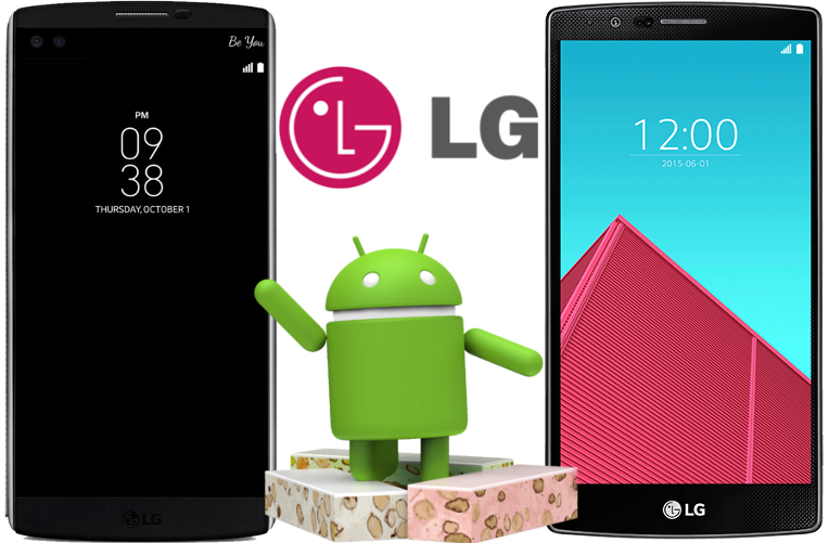telefony LG G4 a LG V10