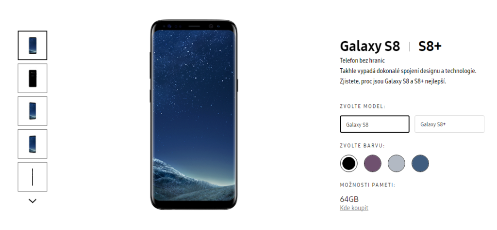 Je cena Samsungu Galaxy S8 vysoká