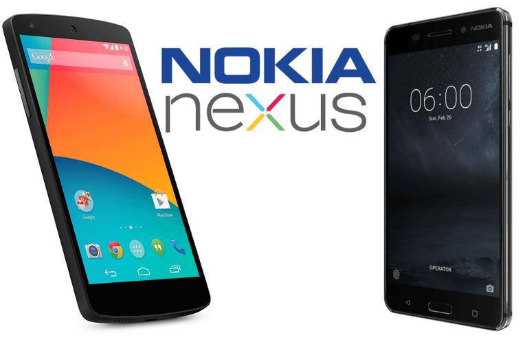 Nexus telefony