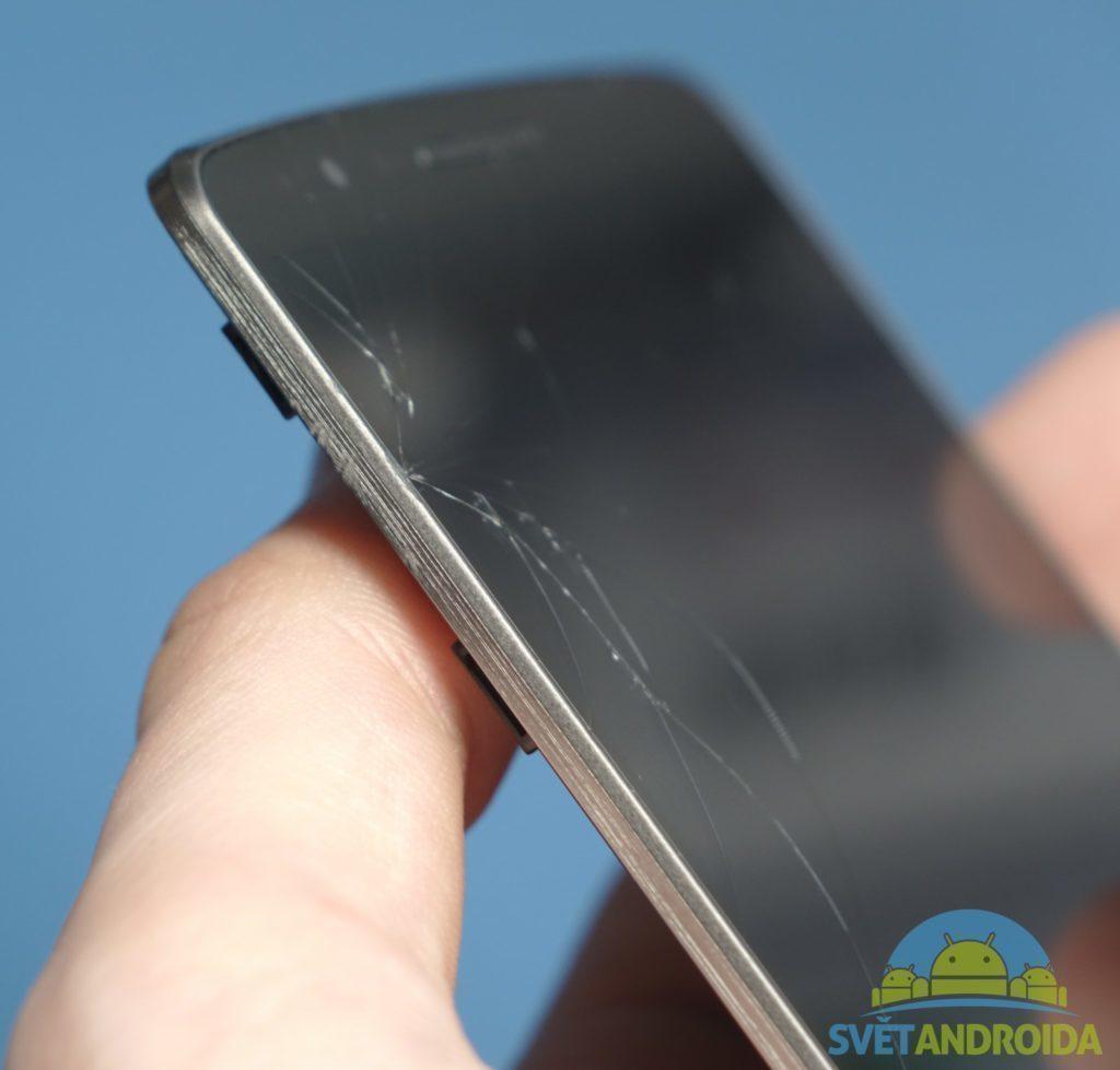 Poškození při pádu - LG G3 4