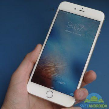 Poškození při pádu – iPhone 6 Plus 1