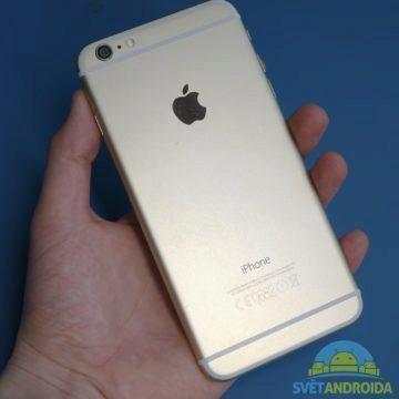 Poškození při pádu – iPhone 6 Plus 4