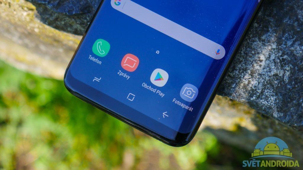 Recenze-Samsung-galaxy-S8 konstrukce tlačítka