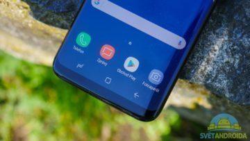 Recenze Samsung Galaxy S8 konstrukce tlačítka