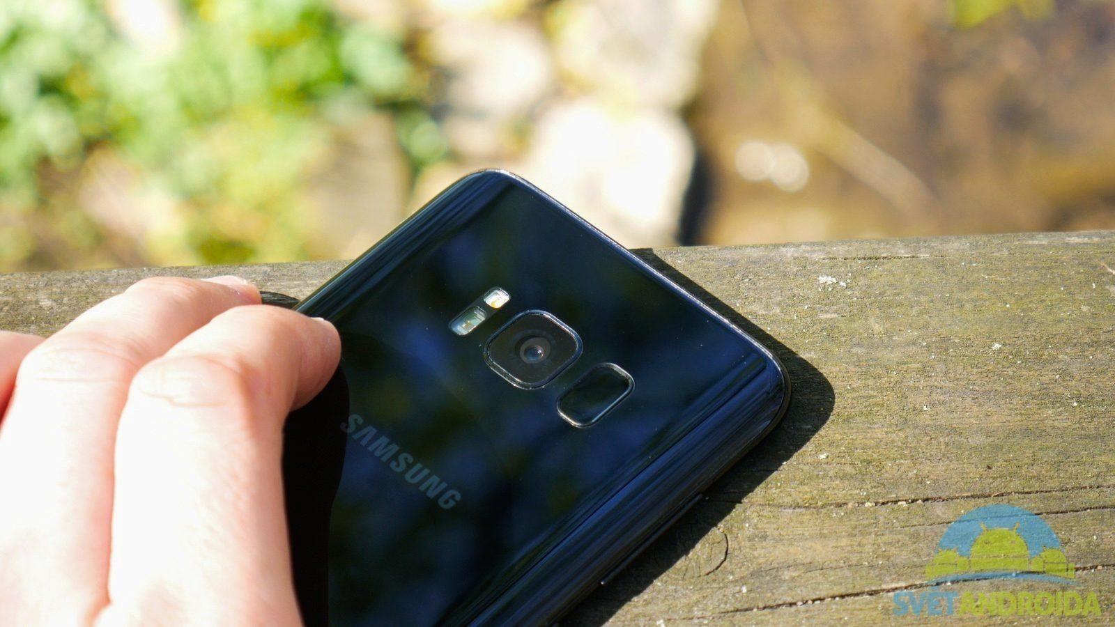 Recenze Samsung Galaxy S8 konstrukce čtečka tlačítka