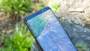 Recenze Samsung Galaxy S8 konstrukce displej okraj