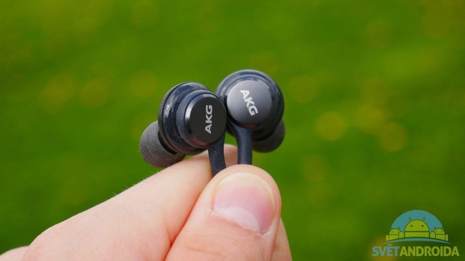 Recenze Samsung Galaxy S8 sluchátka