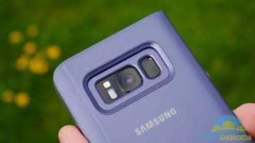 Recenze Samsung S8 kamera flipcase obal
