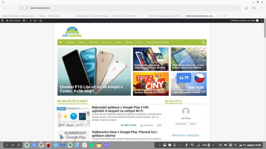 Samsung Dex – system-prostredi-web