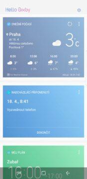 Samsung Galaxy S8 recenze Bixby