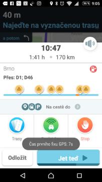 Navigace Waze ví o dění na trase