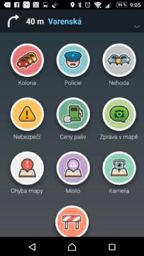 Ve Waze mohou řidiči hlásit události