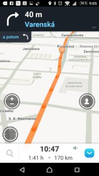 Online navigace ví, kde se tvoří kolony