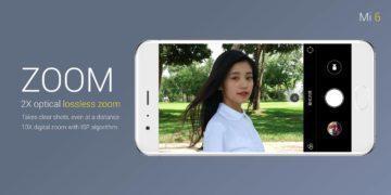 Xiaomi MI 6-fotoaparat