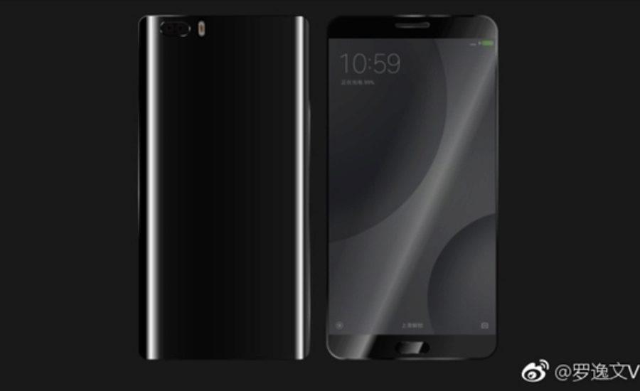 Xiaomi Mi 6 render 1