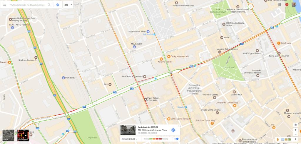Chytré navigace sbírají data o provozu od svých uživatelů