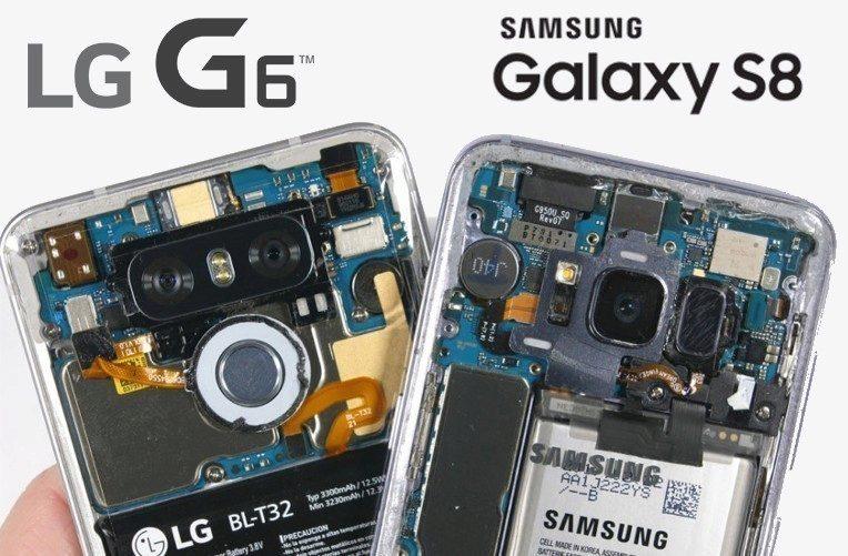 pruhledne LG G6