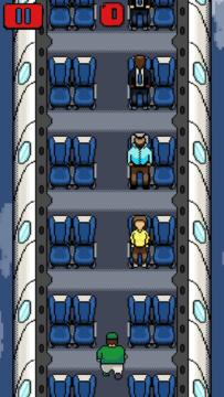 Běh uličkou a vyhazování cestujících