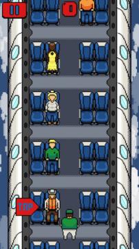 Klepnutím vyhodíte cestujícího